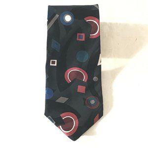 Givenchy Geometric Cube Art Neckwear Tie